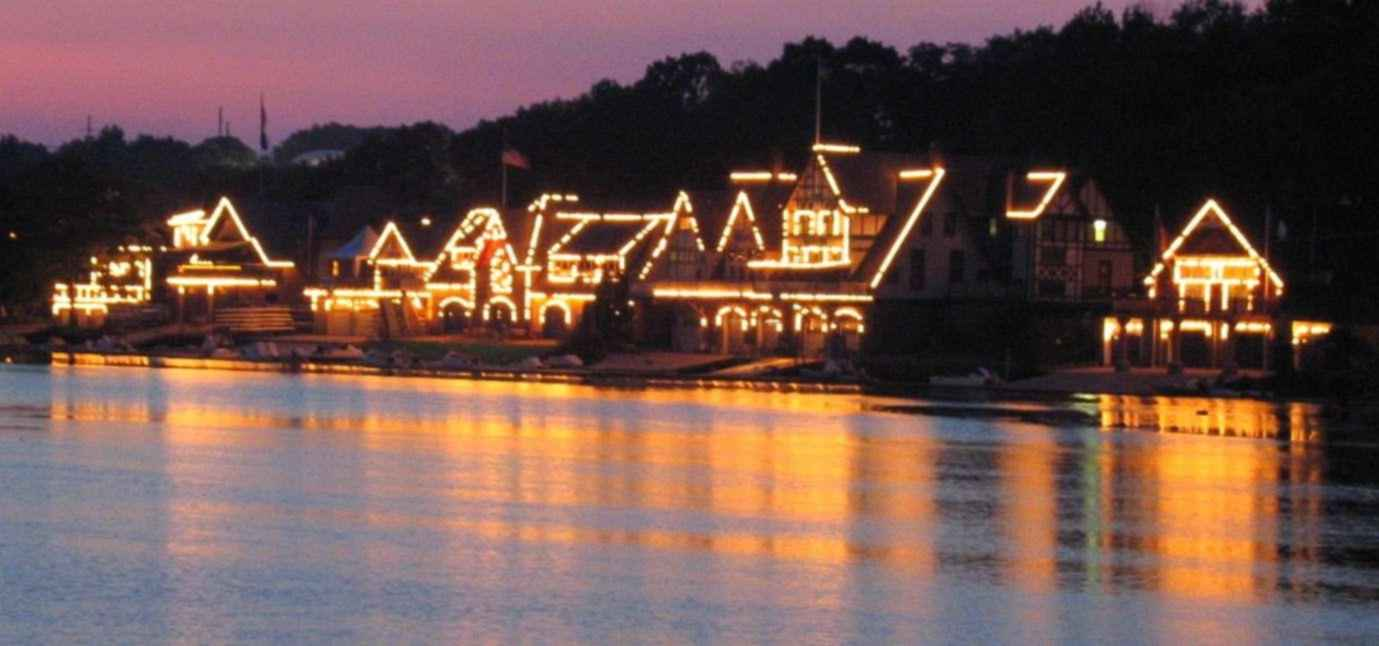 Boathouse Row, Philadelphia PA